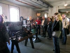 u-Jutsu 50plusler auf Tour in Jever im Brauereimuseum
