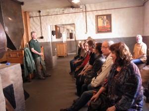 Ju-Jutsu 50plusler beim Vortrag im Brauereimuseum in Jever