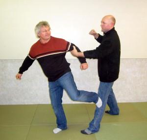 Ju-Jutsu Selbstverteidigung für Senioren